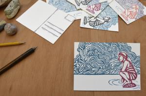 postales tampones autoedición